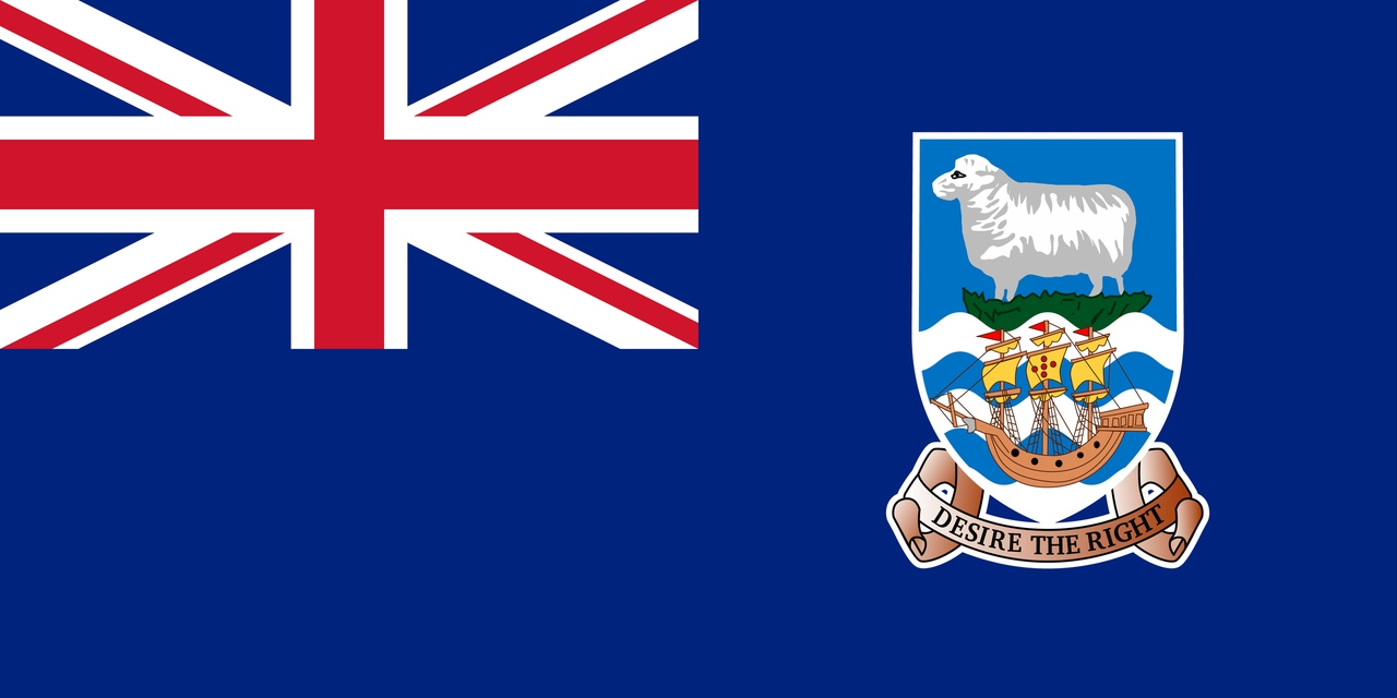 Флаг Фолклендские острова (Мальвинские)