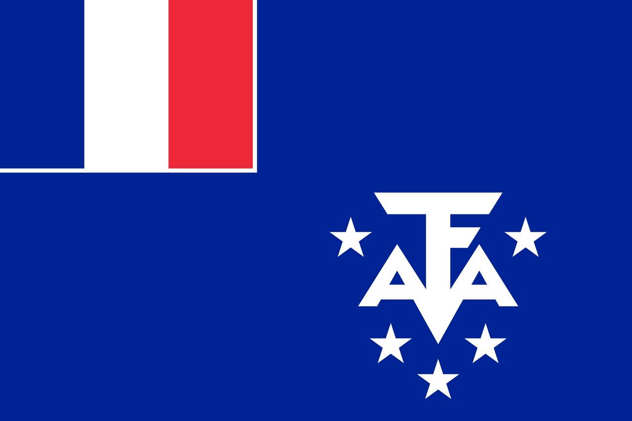 Флаг Французские Южные территории