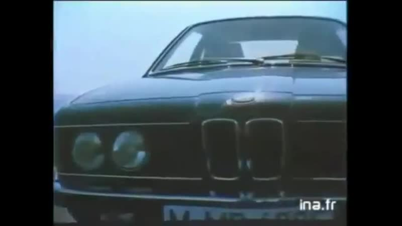 BMW 7-series (E23) - Commercial video (1983)