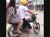 انقلب من الثقل هههه حساب اكشن الدراجات النارية 👇🏼👇🏼👌🏼