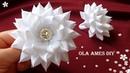 Цветы из лент Канзаши Amazing Ribbon Flower DIY Kanzashi Flores de Fita Ola ameS DIY