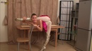 Flexible girl show studio Valentina