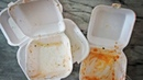 Foam takeout container/Best Decoupage craft /how to recycle styrofoam boxes/ food boxes reusing idea