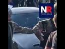 ОМОН дубинками разгоняет толпу конфликтующих в селе Кенделен на видео