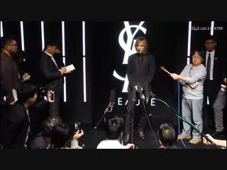[11.10.2018] yoshiki channel - ysl beauty hotel