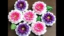 100均材料 つまみ細工 kanzashi flower fabric flower 成人式 七五三髪飾り作り方