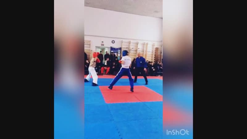 Соревнование кикбоксинг