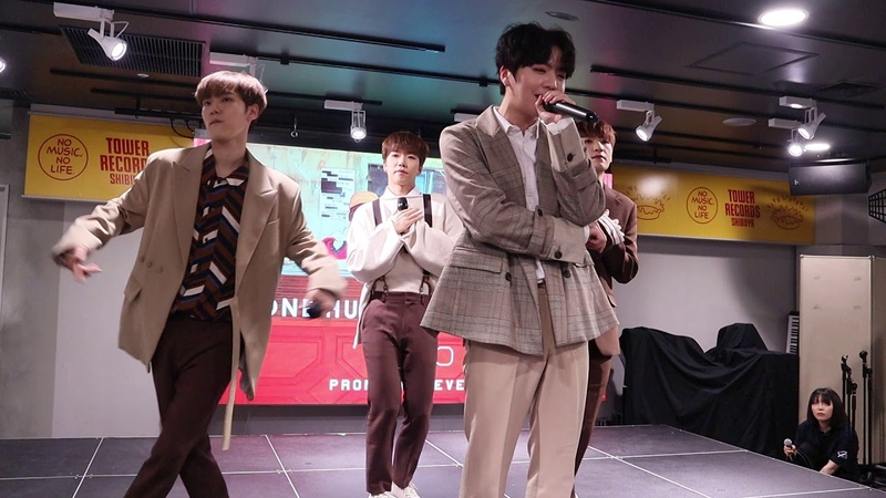 [FANCAM] 190525 백퍼센트(100%) - Cause You're Beautiful @ Tokyo - Tower Records Shibuya