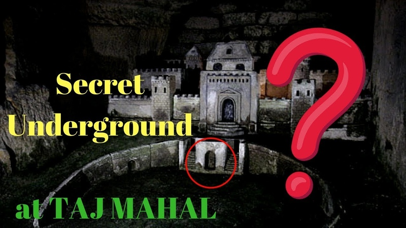 Secret UNDERGROUND Zone of Taj Mahal - What's inside?