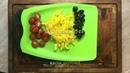 Обед • Салат с красной капустой и медово-горчичным дрессингом
