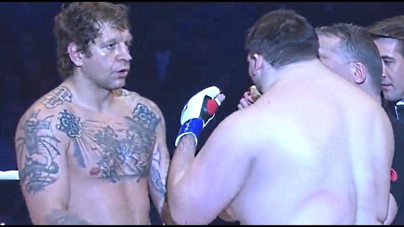 Alexander Emelianenko DESTROYS BiG FAT GUY! Fedor is PROUD.