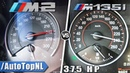 BMW M2 370HP vs 375HP M135i Mosselman 0 240km h Acceleration by AutoTopNL
