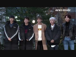 [181116] music bank arrival from news inside