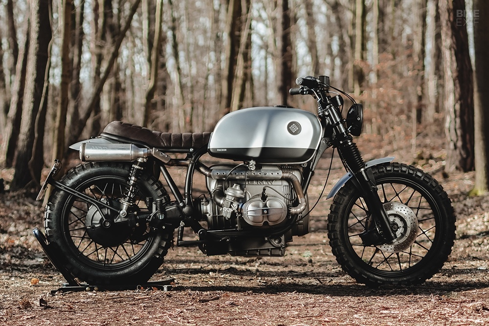 Hookie Co.: скрэмблер BMW R100/7 1979