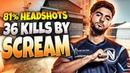 CS:GO - ScreaM 36 frags (81% Headshots) on Cache @ FACEIT