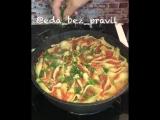 Фаршированные ракушки (ингредиенты указаны в описании видео)