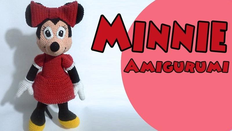 Minnie amigurumi part5