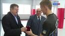 Чемпиону мира по боевому самбо Даниилу Воеводину вручили ключи от новой квартиры
