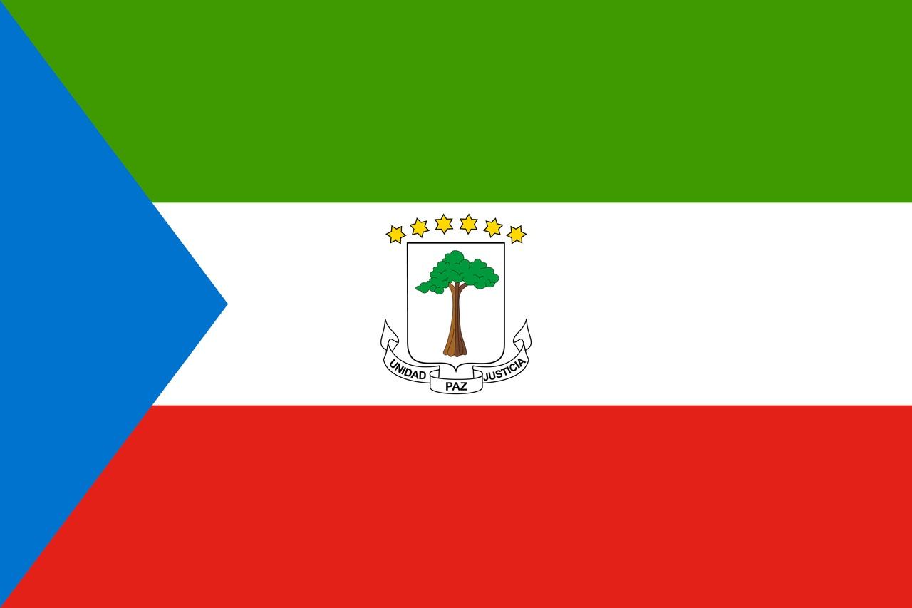 Флаг Экваториальная Гвинея