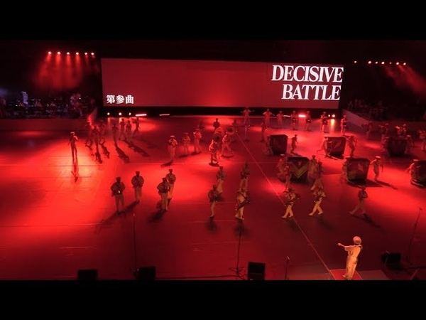 EVANGELION played by Military Band - JSDF Marching Festival 2017 自衛隊音楽まつり 03/14