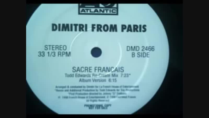 [5][126.00 C] sacré français !! ★ todd edwards ★ re create mix