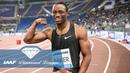 Ronnie Baker Blasting out the blocks IAAF Diamond League
