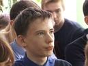 Встреча с ветераном Афганской войны К.В.Виноградовым в школе № 1