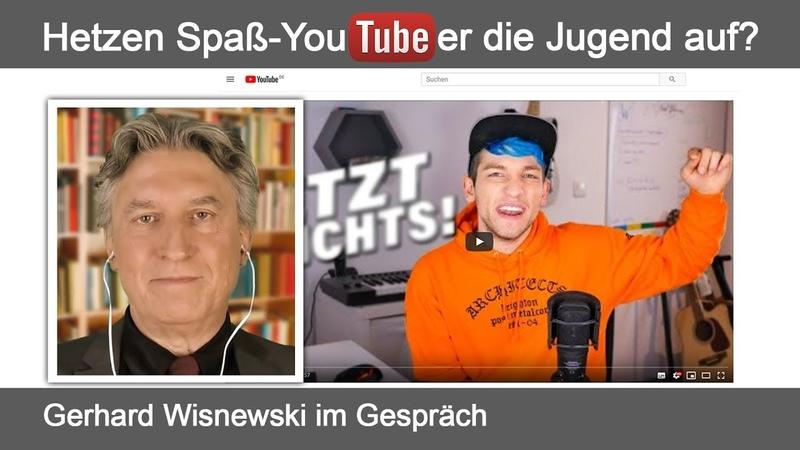 Hetzen Spaß-YouTuber die Jugend auf? (Gerhard Wisnewski im Gespräch)   08.06.2019   www.kla.tv/14393
