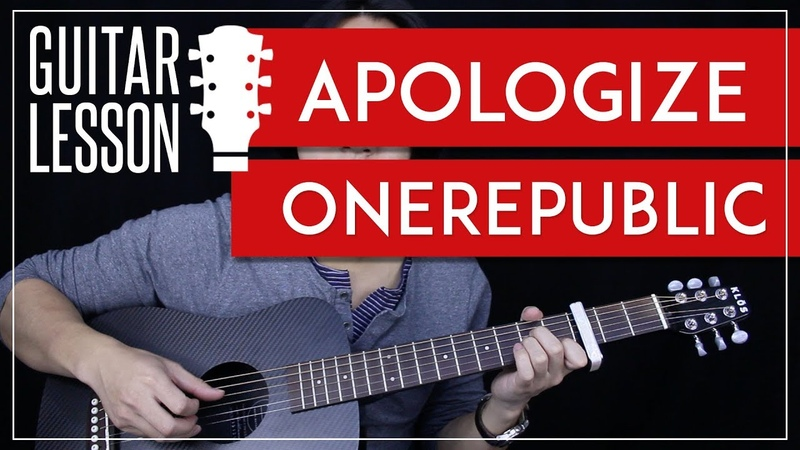 Apologize Guitar Tutorial - OneRepublic Guitar Lesson 🎸 |Tabs Chords Guitar Cover|