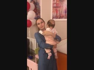 Видеоотзыв о детском массаже в клинике ГлавВрач