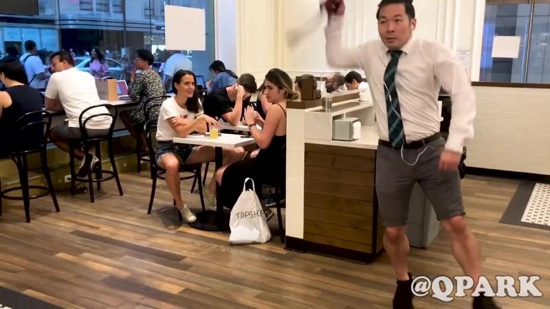 6ix9ine in public