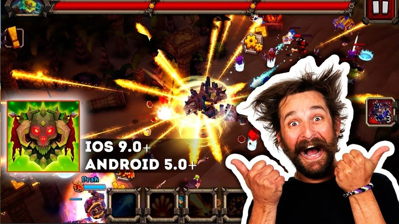 Like a Boss! - Gameplay iOS. Heroes of MMORPGs raid dungeons, search for Epic Items!
