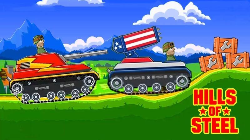 Hills of steel BARRACUDA TANK - Tank - Tank games - Games bii