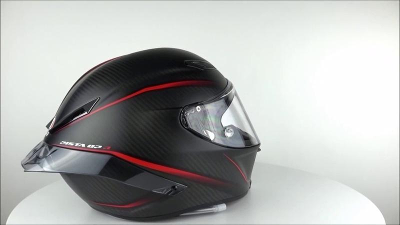 AGV Pista GP R Gran Premio Matt Carbon Helmet - Champion Helmets
