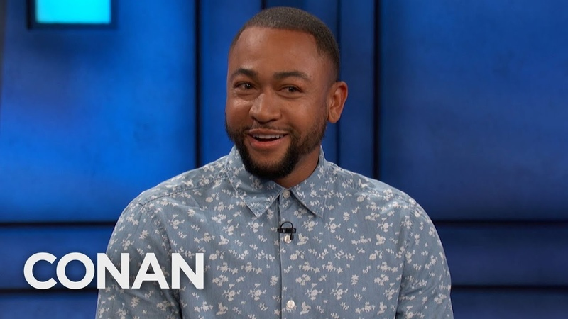 Percy Daggs III Averted His Eyes During Kristen Bell s Sex Scene CONAN on TBS