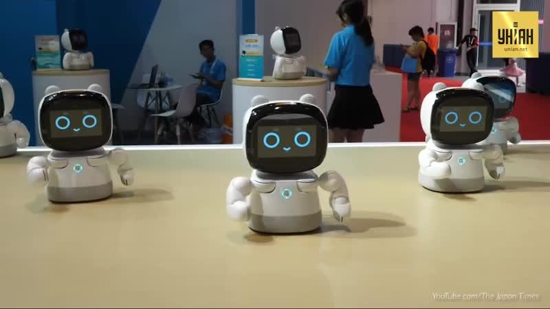 В Японії пройшла виставка роботів