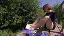 В Ульяновской области живет юная художница рисующая необычным способом