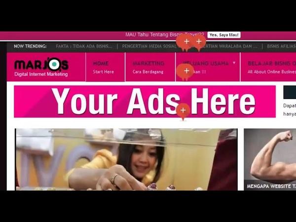MP4 720p Cara memasang iklan google adsense pada wordpress Lengkap