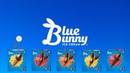 1401-Blue Bunny Ice Cream Spoof Pixar Lamps Luxo Jr Logo