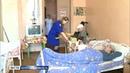 Молодой парламентарий Ольга Шалыгина помогает одиноким пенсионерам в Кирилловском районе