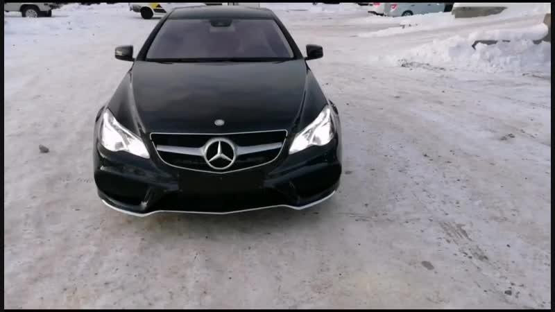 Восстановительная полировка Mercedes E200