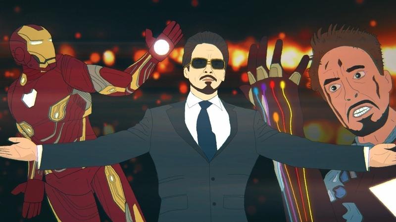 Я просто Железный Человек Прощаемся с Тони Старком