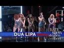 Dua Lipa Performs 'IDGAF'