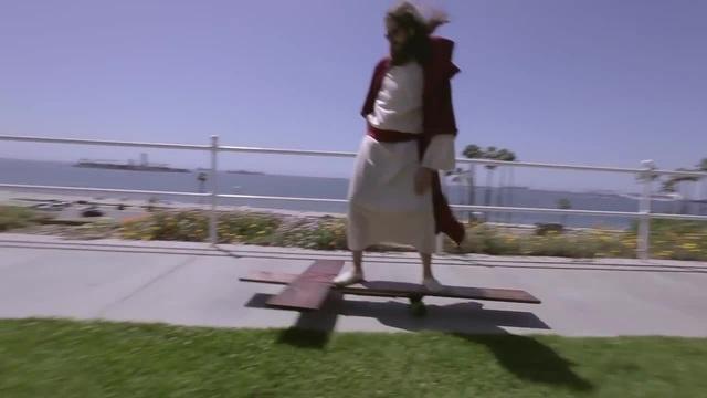 Jesus Christ skates for your SINS!