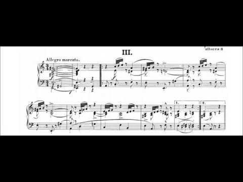 Schumann Intermezzi, Op.4 (Christoph Eschenbach) (Audio Sheet Music)
