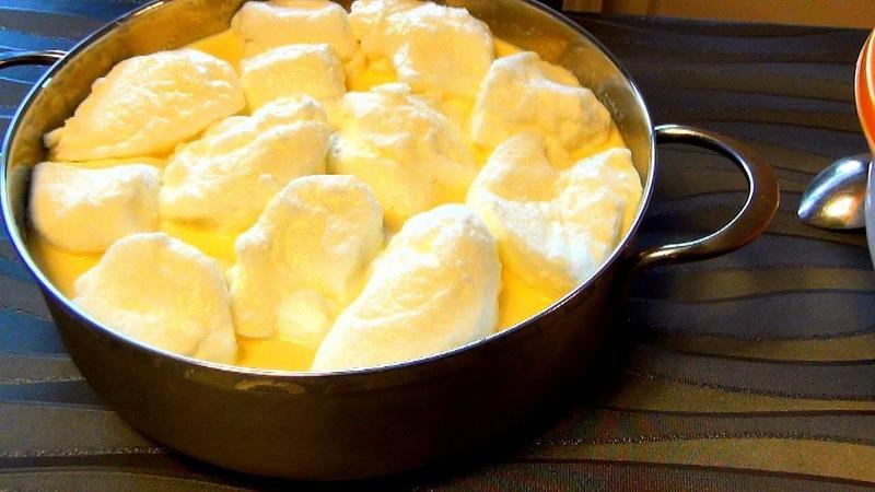 Снежки Schneeflocken sheypale старинный немецкий десерт Вкусные рецепты из доступных продуктов