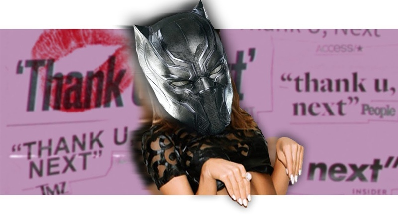 Black Panther Sings thank u, next by Ariana Grande! | Avengers Parody