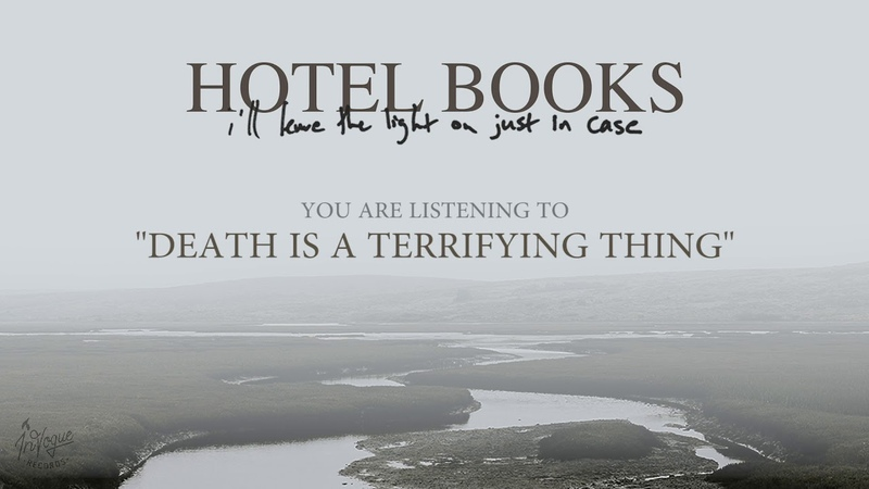 Hotel Books - Death Is A Terrifying Thing