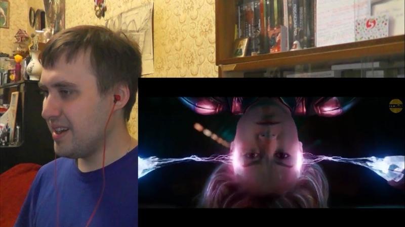 Marvel Studios' Captain Marvel - Trailer 2 FREDERICK'S REACTION