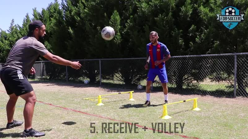 FULL SESSION. Finishing, technique, agility and speed - FDB SOCCER